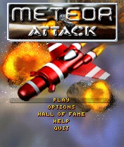 Meteor Attack 1.0 [SIS] - Symbian OS 6/7/8