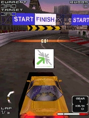 Project Gotham Racing Mobile 3D [SIS] - Symbian OS 7