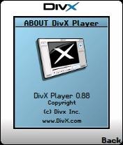 DivX Player 0.88 - Symbian OS 6/7/8