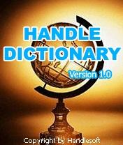 Handle Dictionary 1.0 - Symbian OS 6/7/8