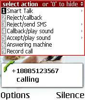 Eltima Software Smart Call Manager 5.22.8 - Symbian OS 6/7/8