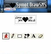 DrawSMS 1.30 - Symbian OS 7/8