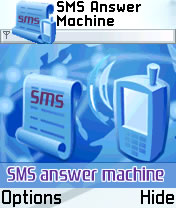 ASGATech SMS Answer Machine 1.0.1 - Symbian OS 7/8