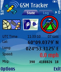 GSM Tracker 2.20.573 - Symbian OS 7/8