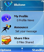 BluXone 0.4.40 - Symbian OS 7/8/8.1