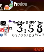 TYScrsaver 1.20 - Symbian OS 7/8