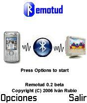Bluetooth Remote Control 0.2 Beta - Symbian OS 6/7/8