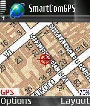 SmartCom GPS 1.53b - Symbian OS 7/8.