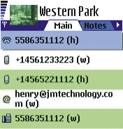 Alon Contact Guide Pro 2.0 - Symbian OS 6/7/8