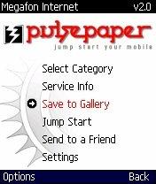 Pulsepaper 2.0.2 - Symbian OS 6/7/8.x