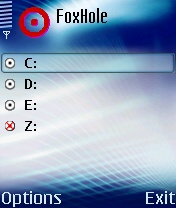 FoxHole 1.0 - Symbian OS 6/7/8