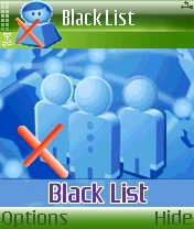 Black List 1.01 - Symbian OS 7/8