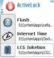 ActiveLock 1.0 - Symbian OS 8.1