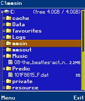 X-plore 1.12 - Symbian OS 6/7/8