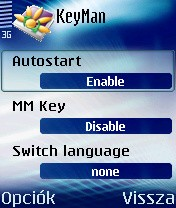 KeyMan 1.07 - Symbian OS 6/7/8