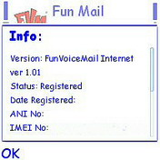 Stellarnet FunVoiceMail 1.0 - Symbian OS 6/7/8.x