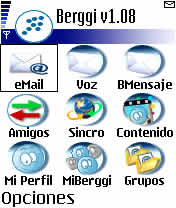 Berggi Email Client 1.0 - Symbian OS 6/7/8