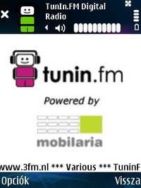 Mobilaria TunIn FM Digital Radio 1.18.1 - Symbian OS 6/7/8