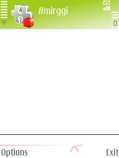 mIRGGI 0.4.95 - Symbian OS 8