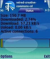 SymTorrent 1.12 - Symbian OS 9.1