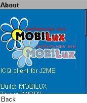 Jimm Mobilux Edition 0.5.1 - Symbian OS 9.1