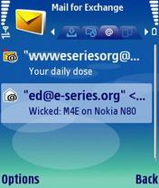 MailForExchange 2.0 - Symbian OS 9.1