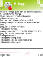 mIRGGI 0.4.96d - Symbian OS 9.1