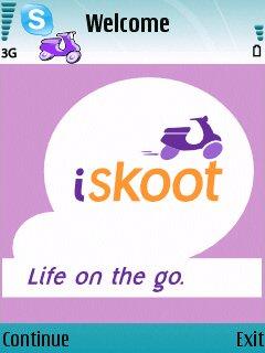 iSkoot for Skype 1.1.45 - Symbian OS 9.1
