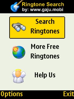 RingTone Search Engine 1.01 - Symbian OS 9.1