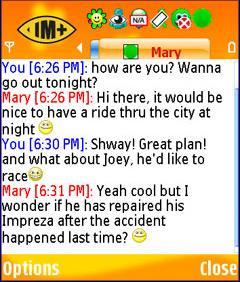 IMplus 7.0 - Symbian OS 9.1
