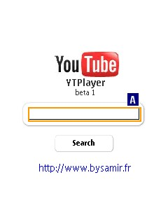 YTPlayer Beta 1 - Symbian OS 9.1