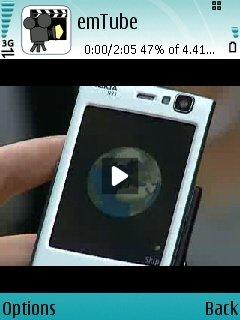 EmTube 1.04 - Symbian OS 9.1