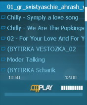 OggPlay 1.70 BETA - Symbian OS 9.1