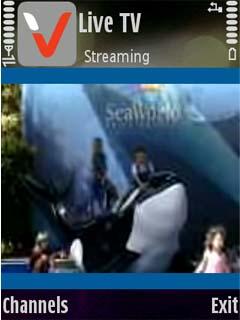 LiveTV 1.0 - Symbian OS 9.1