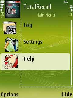 TotalRecall 1.03 - Symbian OS 9.1