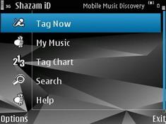 Shazam iD 1.0 - Symbian OS 9.1