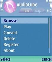 AudioCube 1.1.21 - Symbian OS 9.1