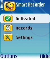 Smart Recorder 2.0 - Symbian OS 9.1