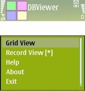 Mobile DB Viewer 1.0 - Symbian OS 9.1