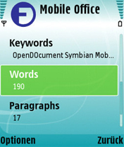 Mobile Office 1.1 - Symbian OS 9.1