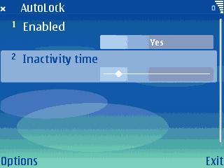 AutoLock 1.0 - Symbian OS 9.1