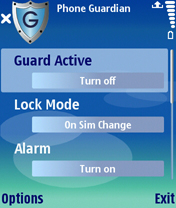 Phone Guardian 2.0 - Symbian OS 9.1