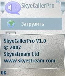 SkyeCaller Pro 1.0 - Symbian OS 9.1