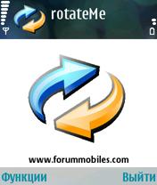 RotateMe 1.01 - Symbian OS 9.1