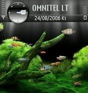 Aquarium Theme - Symbian OS 8.1