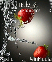Strawberry Them - Symbian OS 6/7/8