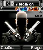 Hitman Theme - Symbian OS 7/8
