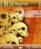 Skull Desktop by Lemans - Symbian OS 7/8
