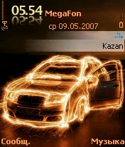 Neon Avto by Bu4 - Symbian OS 7/8