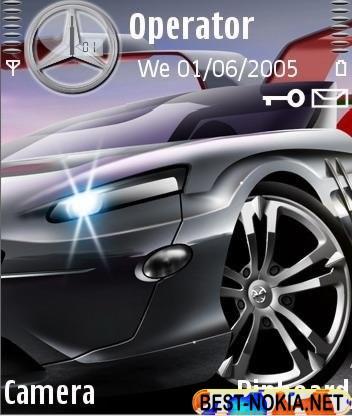 Mercedes Gullwing - Symbian OS 9.1